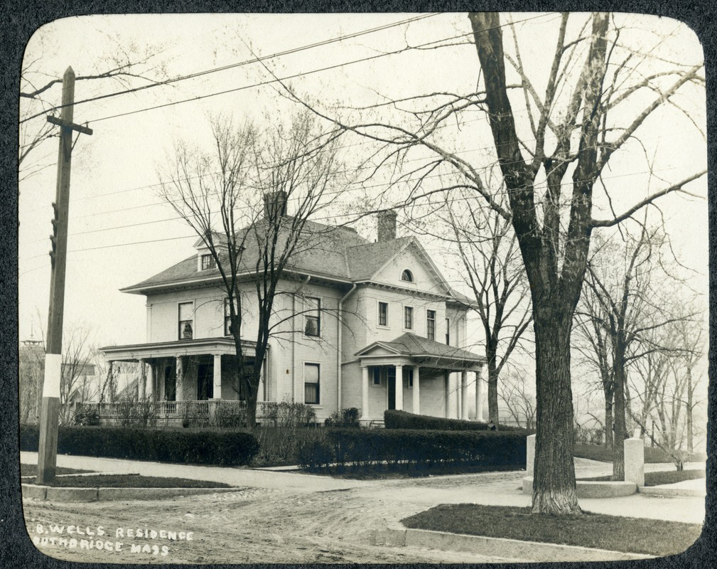 A B Wells Home in Southbridge