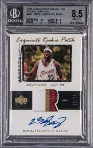 LeBron James rookie card, $270,600, Goldin Auctions