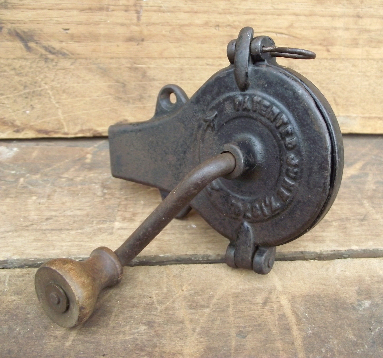 Patented Antique Nutmeg Grinder