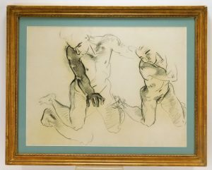Sargent charcoal drawing, $22,800, Bruneau & Co.