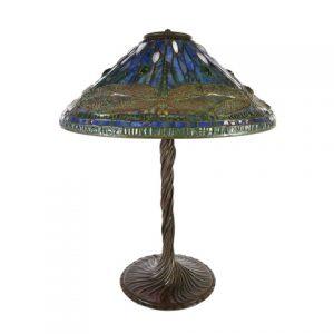 Tiffany Dragonfly lamp, $180,000, Michaan's