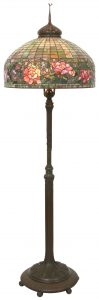 Tiffany Peony Border lamp, $151,250, Fontaine's Auction