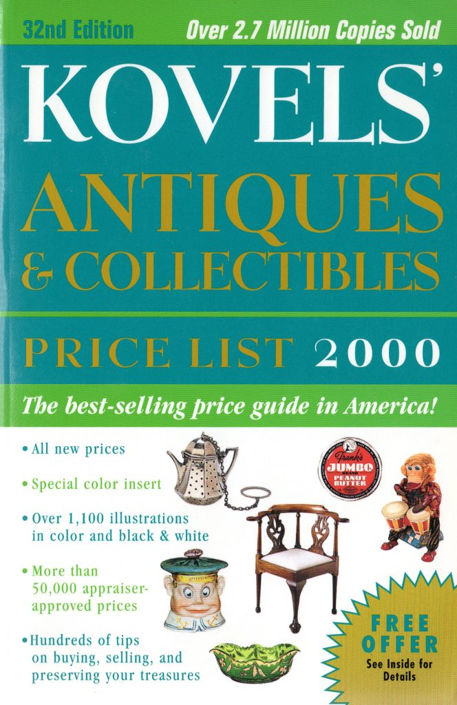 2000 cover of Kovels