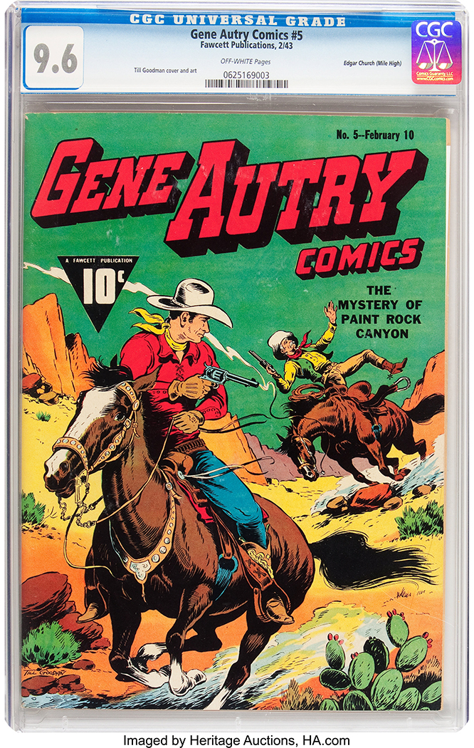 Gene Autry Comic
