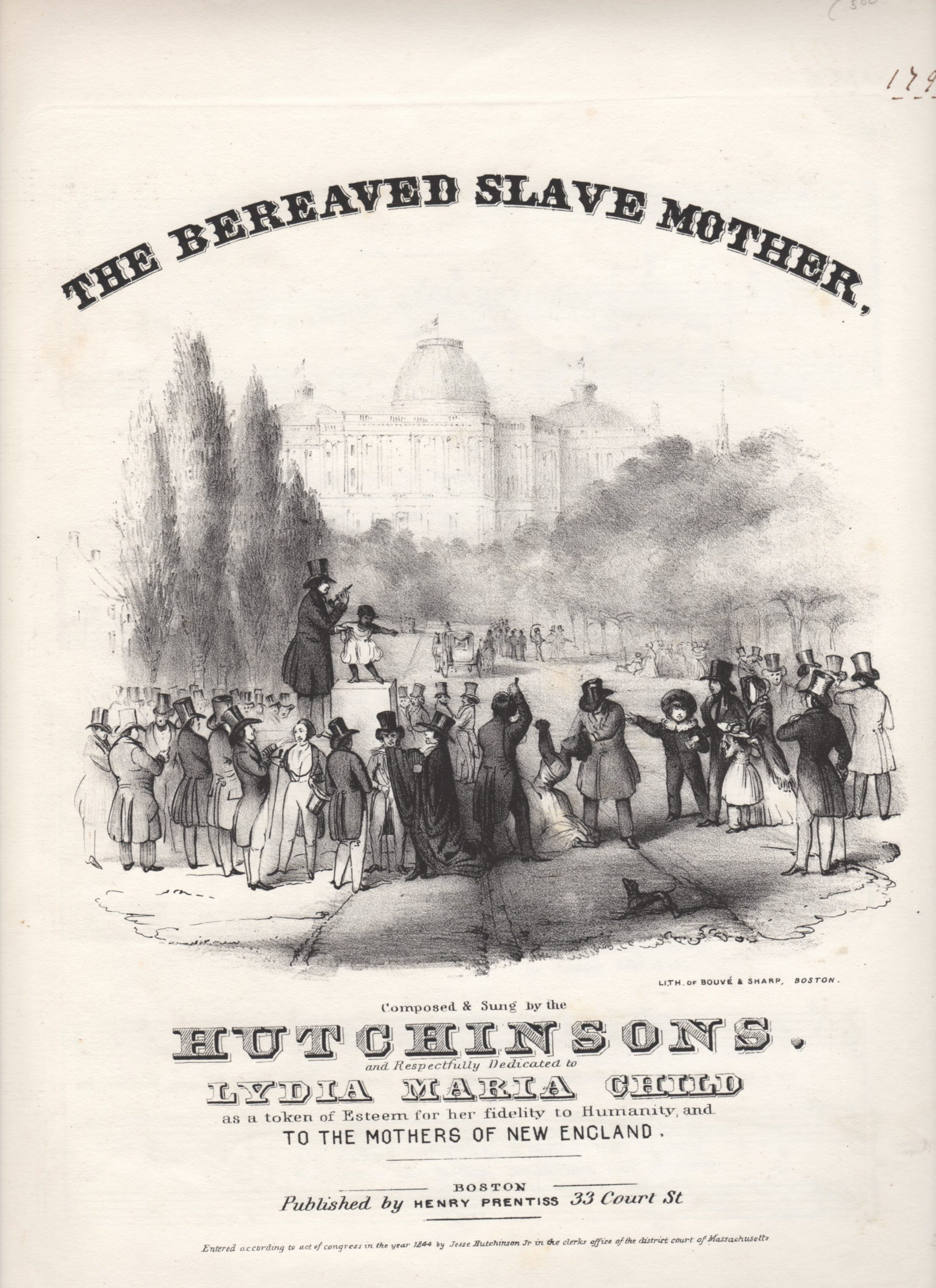 the bereaved slave mother
