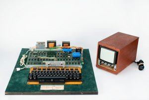 Apple-1 computer, $458,711, RR Auction