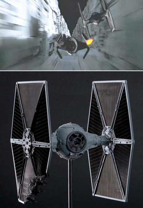T.I.E. Fighter from Star Wars