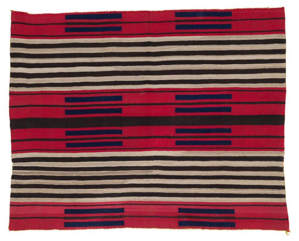 Navajo chief's blanket, $40,625, John Moran