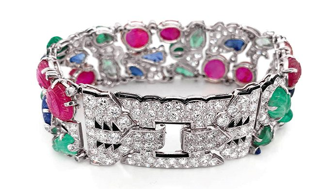 'Tutti Fruiti' Cartier bracelet, $1.34 million, Sotheby's