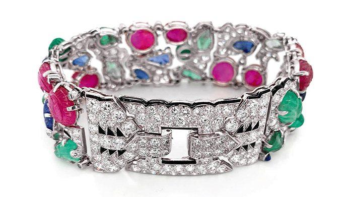 'Tutti Fruiti' Cartier bracelet, $1.34 million, Sotheby's