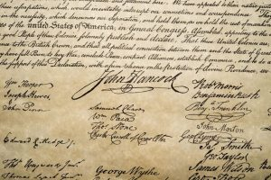 The Declaration of Independence boasts of a plethora of signatures from some of America's most famous men, but whose do you think is the most valuable? The podcast Radiolab conducted in an investigation and the winner is Button Gwinnett! Surprised? Gwinnett's obscurity increased the value of his signature. He only has 51 documented signature examples and was killed in a duel in 1777. photo: Andrea Izzotti/ Shutterstock and Reader's Digest