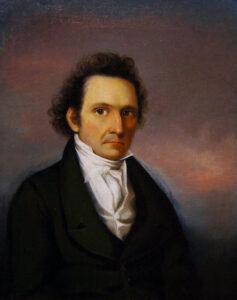 John James Audubon, Self-portrait, 1822-23