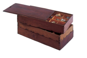 Figure 7: Geological Specimen Box, c.1849. Th114, Gift of Mrs. Gilbert S. Tower (1962). photo courtesy of the Concord Museum