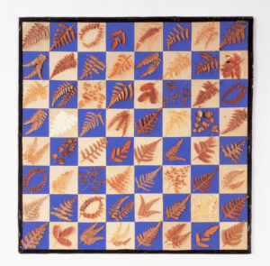 Figure 9: Checkerboard made by Sophia E. Thoreau, c.1860. Th117, Gift of Miss Sarah (Sally) R. Bartlett (1965). photo courtesy of the Concord Museum