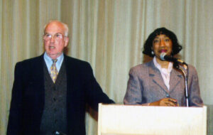 Dr. Cargo and Yvonne Wells