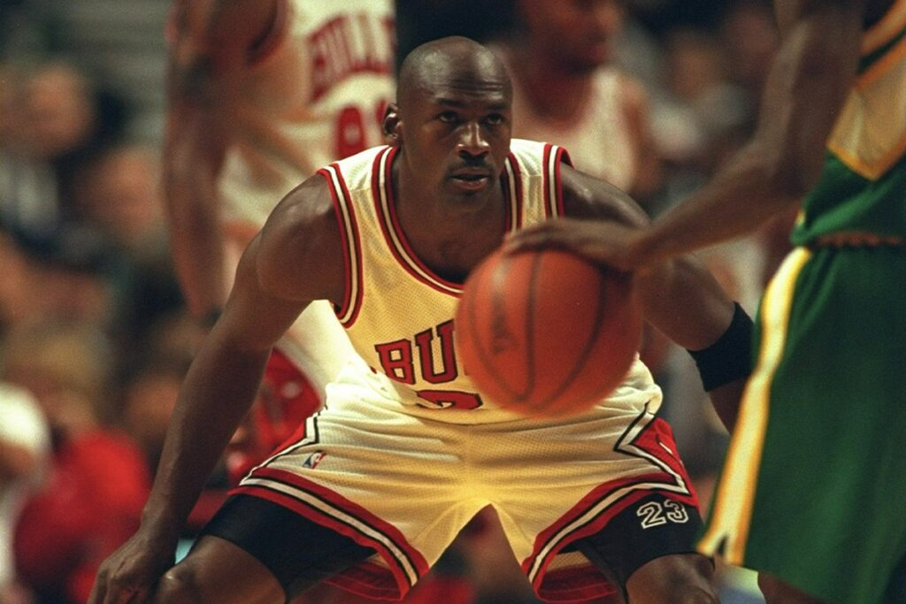 Michael Jordan collectibles bring in high prices at auction this season.
