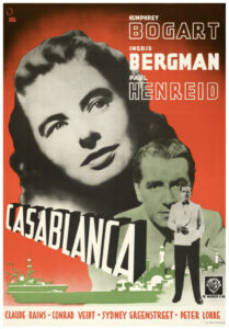 This Swedish one-sheet for Casablanca nearly tripled its estimate when it sold for $55,000 at Heritage. ­Image courtesy of Heritage Auctions.