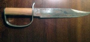 "A commemorative knife marked ""CSA,""  $100-$200."