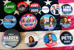 Pushing their Buttons: Campaign Memorabilia