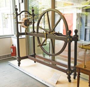 Globe electric machine, Benjamin Martin, 1766