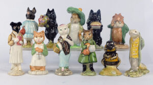 A selection of Beswick Beatrix Potter collectibles