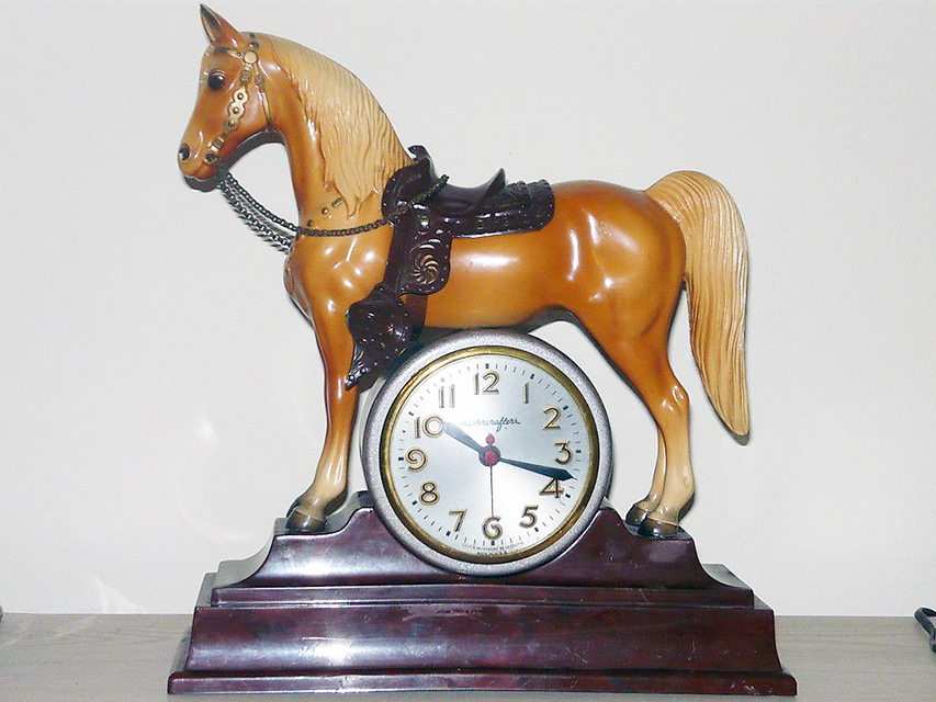 Breyer #57 with clock