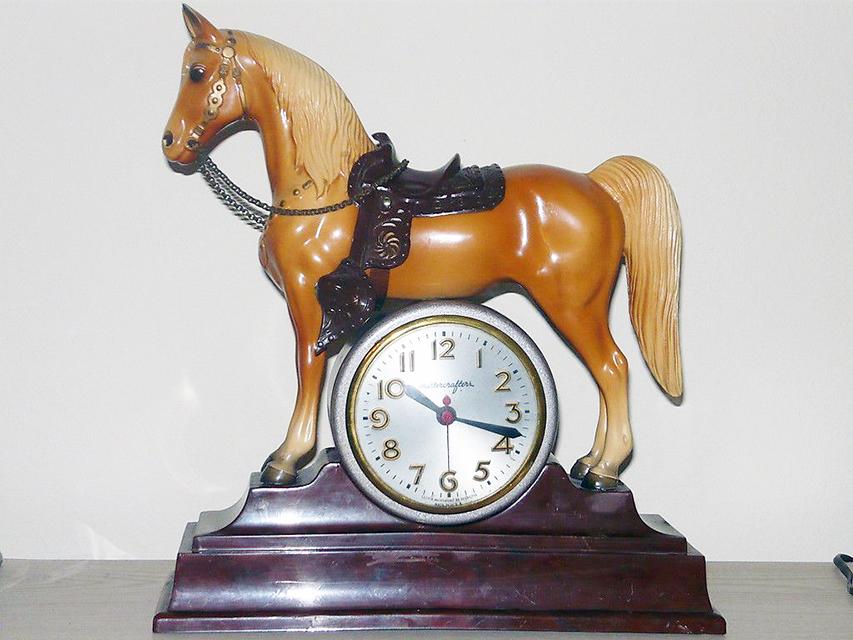 Breyer #57 with clock