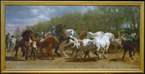 Rosa Bonheur (1822-1899) The Horse Fair, 1852–55, Oil on canvas, Metropolitan Museum of Art