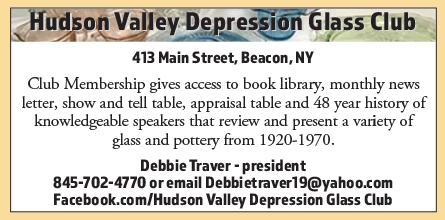 Hudson Valley Depression Glass Club