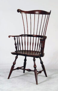 Wallace Nutting New England style Windsor Comb-back Armchair