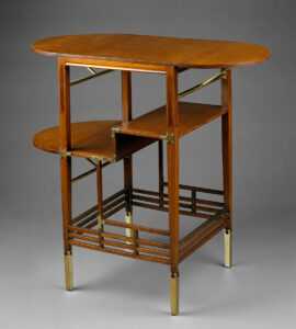 Circa 1872 side table  created by Edward William Godwin for his wife,  the actress Ellen Terry.  photo: metmuseum.org