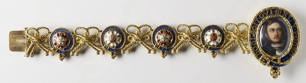 "Another favorite given to Victoria by the Prince is a ""locket"" like bracelet. The bracelet has a case at the end with Prince Albert's picture in it."