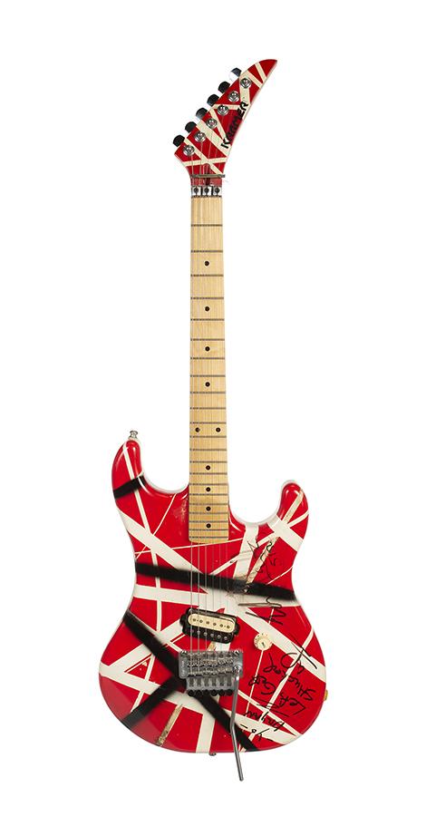 Eddie Van Halen guitar, $231,250, Julien's