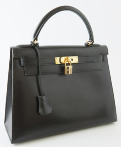 Hermes leather handbag, $8,750, Crescent City