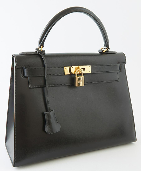 Hermes leather handbag, $8,750, Crescent City