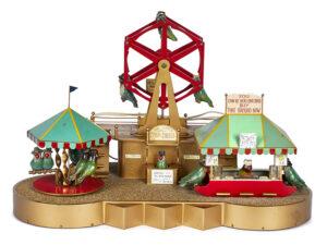 Lovebird carnival display, $8,540, Pook & Pook, Inc.