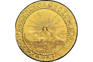 1787 gold doubloon coin, $9.36 million, Heritage