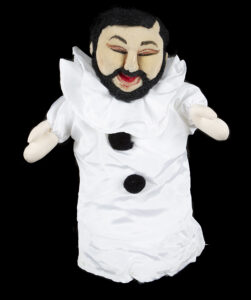 """Lot 627: Steve Martin """"Pavarotti"""" puppet from his funny stand-up act called """"The Great Flydini"""""""