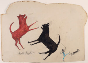 Bill Traylor painting, $293,750, Christie's