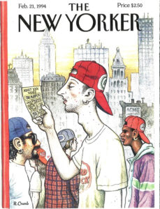 The New Yorker cover February 21, 1994