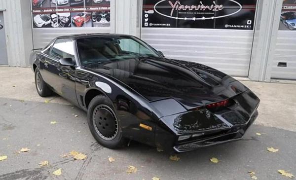 Hasselhoff's K.I.T.T. car, $345,000, Diligent Auction