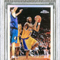 A black label pristine A black label pristine 1996-1997 Topps Chrome Refractors #138 Kobe Bryant rookie card sold for $1.796 million in a Winter Auction ending March 6-7 by Goldin Auctions, based in Runnemede, NJ.1996-1997 Topps Chrome Refractors #138 Kobe Bryant rookie card sold for $1.796 million in a Winter Auction ending March 6-7 by Goldin Auctions, based in Runnemede, NJ.