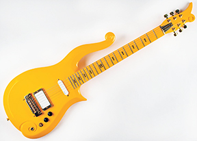 """The """"Cloud"""" guitar custom-made by Minneapolis Luthier Kurt Nelson in the 1990s for the musician Prince sold for $132,868 in an online auction that began on Feb. 19 and ended March 10 by RR Auction, based in Boston."""