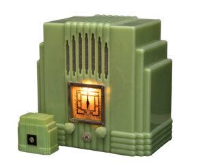 """AWA """"Radiolette"""" with Cigarette Box, Australia, 1934 & 1936"""