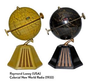 Raymond Loewy, U.S., Colonial New World Radio, 1933