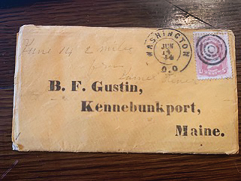 Union soldier Benjamin Gustin's letters worth more than the usual average price of $20 each, but the content will determine final values.