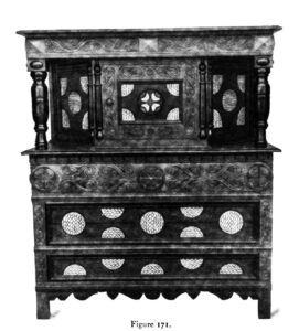 Cupboard restored