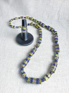 Timeless millefiori glass beads highlight modern-day Western jewelry pieces.