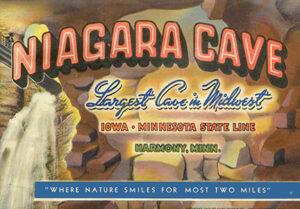 NIagara Cave Postcard
