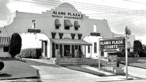 In 1955, there were more than 20 locations in the Alamo Plaza Courts chain.